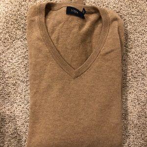 J. Crew men's XS v neck sweater
